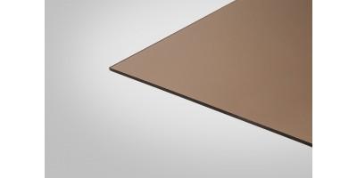 Монолитный Поликарбонат КОЛИБРИ 3,0 мм 2050x3050 м бронзовый 40%