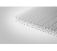Сотовый поликарбонат Полигаль 20,0 мм 2100x6000 м прозрачный  ГОСТ